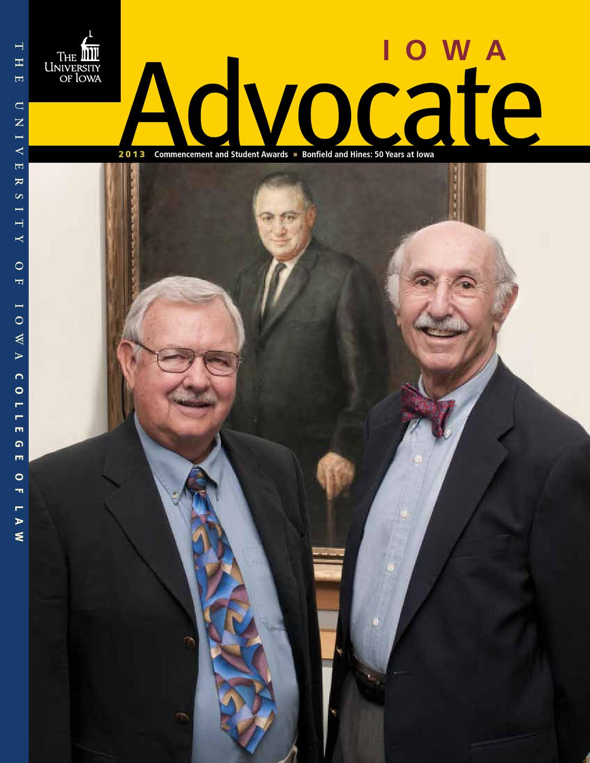 Iowa Advocate 2013 By The University Of College Law Issuu Dean W Armstrong Geiger Counter Clicker Schematic