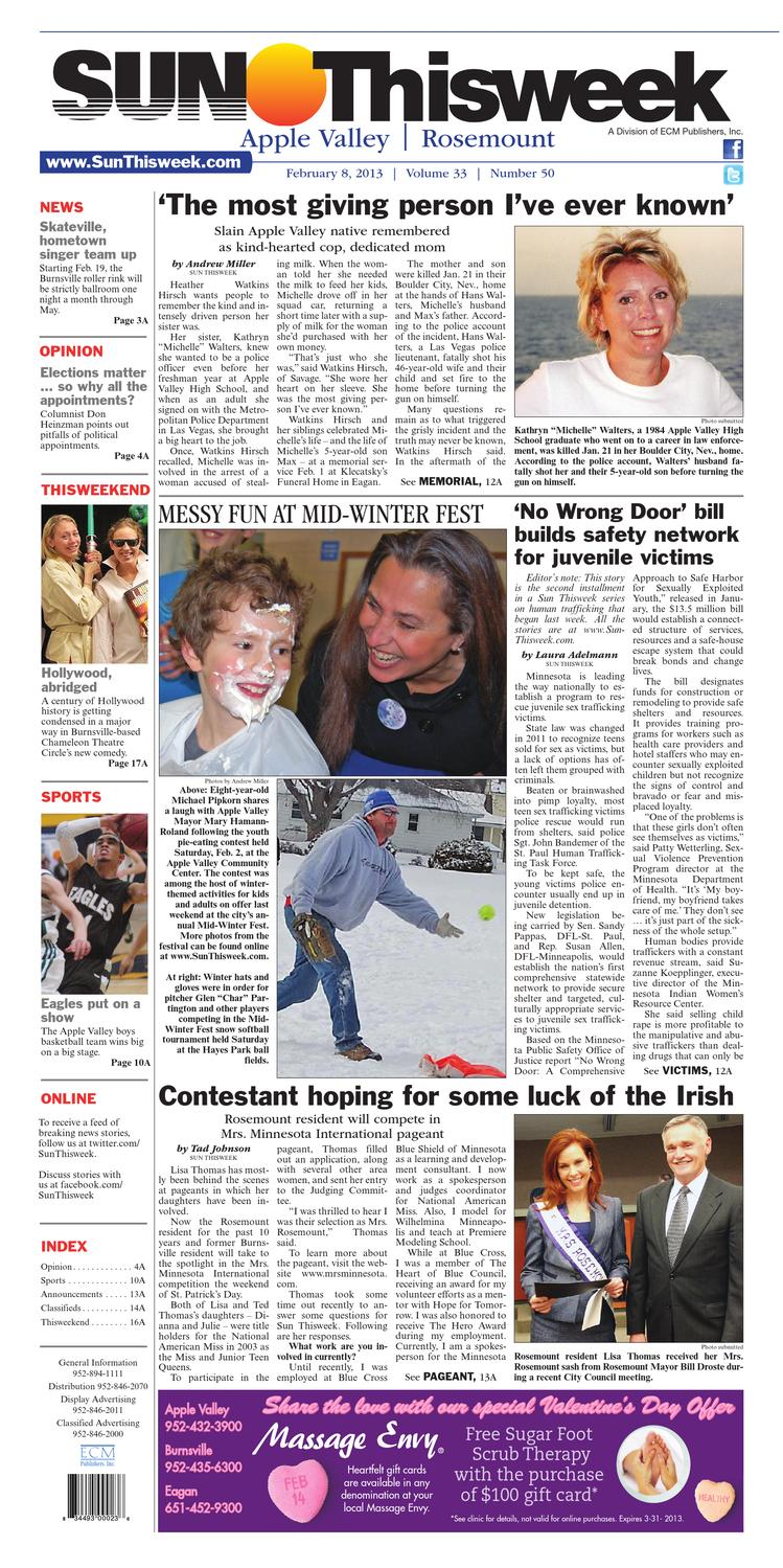 Sun Thisweek Apple Valley And Rosemount By Sun Thisweek Issuu