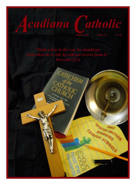 Acadiana Catholic February 2013 By Acadiana Catholic Issuu