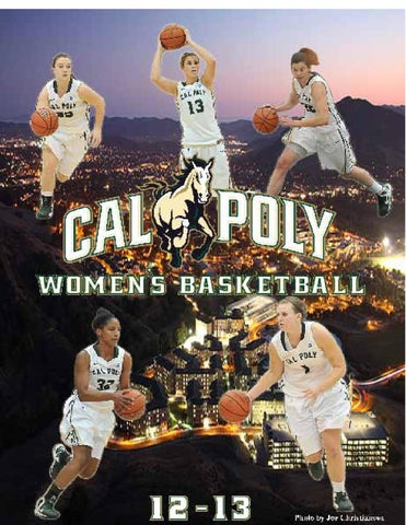 f2e4d6ca031 2012-13 Cal Poly Women s Basketball Media Guide by Cal Poly ...