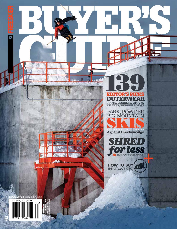 Freeskier Magazine - 2013 Buyer s Guide by Freeskier Magazine - issuu 81e2cebeb
