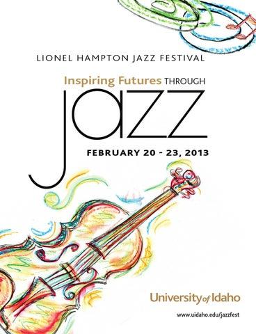 2013 Lionel Hampton Jazz Festival Program by The University