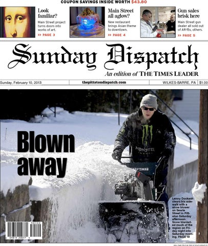7f85283088ae69 The Pittston Dispatch 02-10-2013 by The Wilkes-Barre Publishing ...
