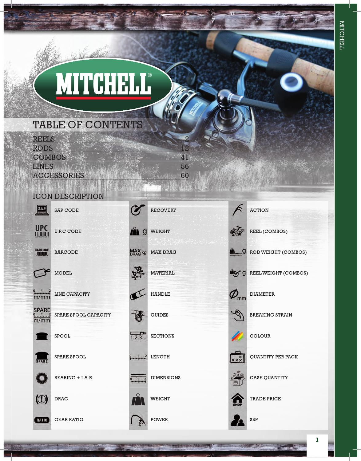 MITCHELL MAG PRO ADVANCED 662mh 1,98 m 8//32 Spin