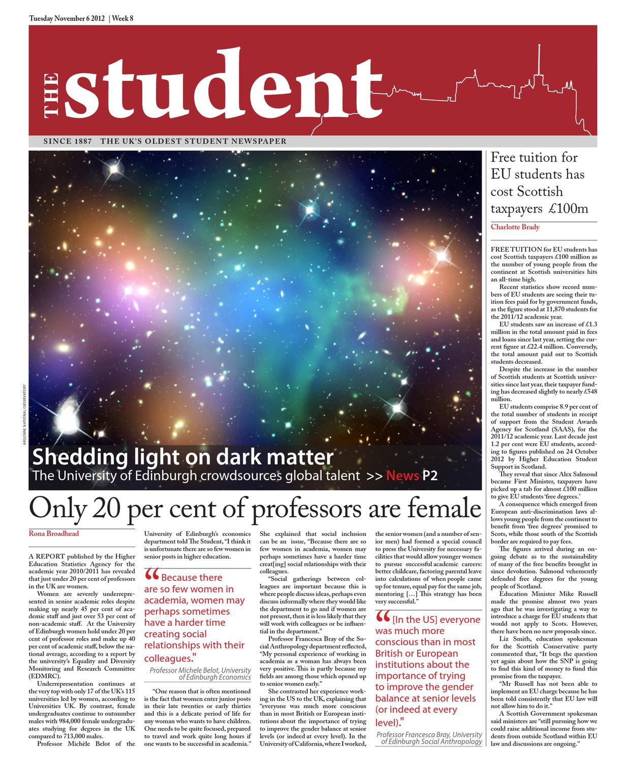 The Student 06 11 2012 by The Student - issuu c32d3dfaaf337