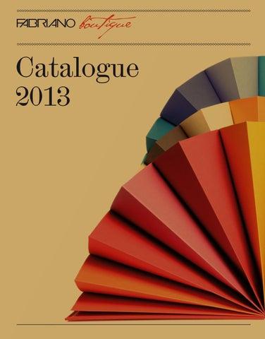 e54bbe3175 Fabriano Boutique - Catalogue 2013 by Fedrigoni SpA - issuu
