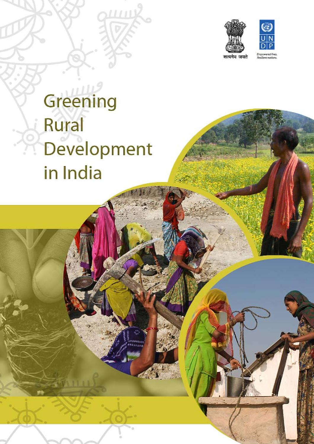 greening rural development in by united nations development  greening rural development in by united nations development programme issuu