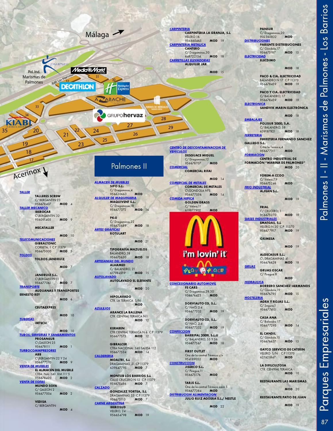 Parques Empresariales N M 37 By Grupo Eudiem Edifusi N  # Muebles Sipo Los Barrios