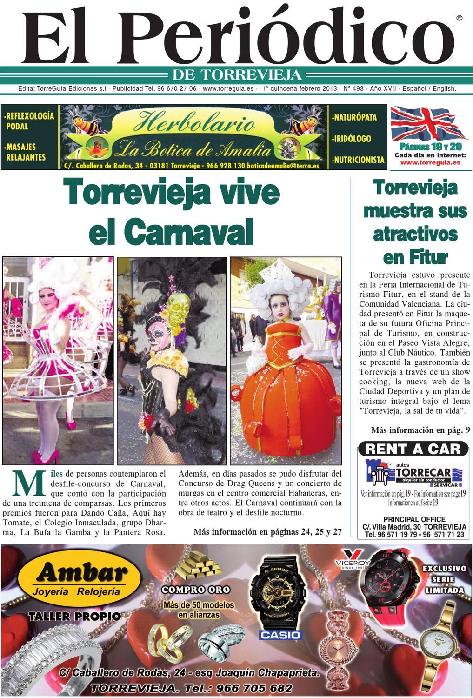 El peri dico de torrevieja 493 by torregu a ediciones issuu for Oficina de turismo torrevieja