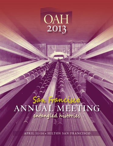 2013 oah annual meeting program by organization of american page 1 fandeluxe Image collections