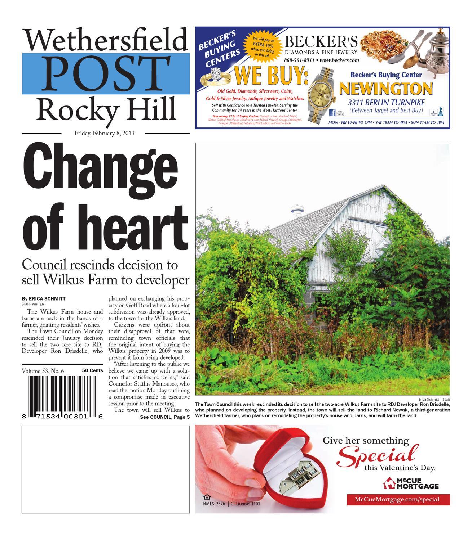 Rocky Hill Post 02-08-2013 By Art