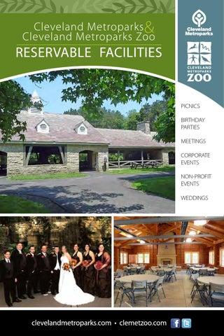 Reservable Facilities By Cleveland Metroparks Issuu