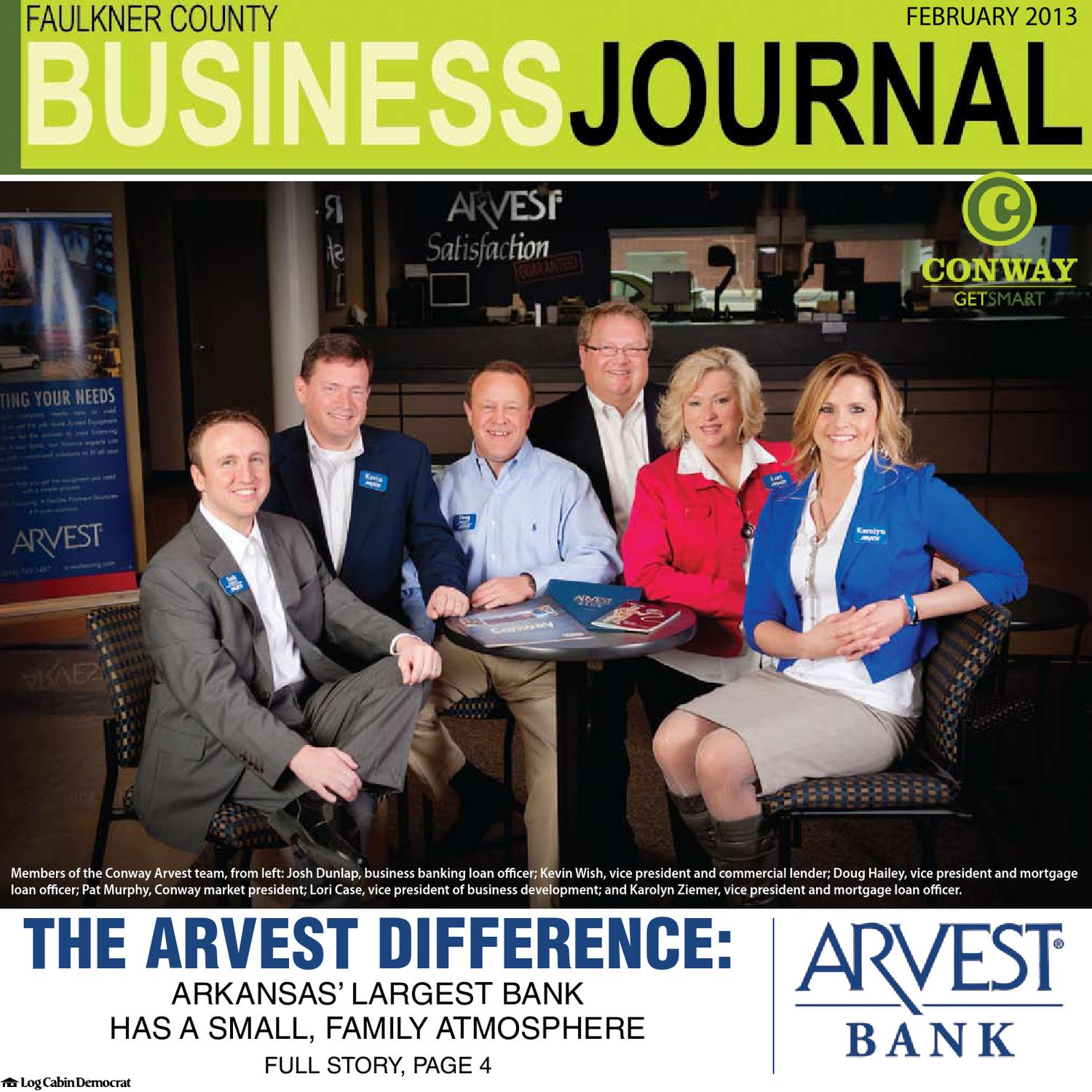 2013-02 Faulkner County Business Journal by Conway Area Chamber of