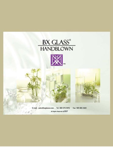 2012 Catalog By Bx Glass Bradbury Imports Issuu