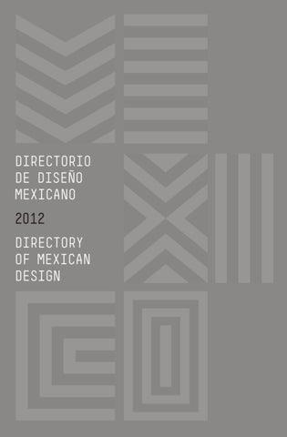 Directorio de Diseño Mexicano by Diego Huerta - issuu 862fefd44