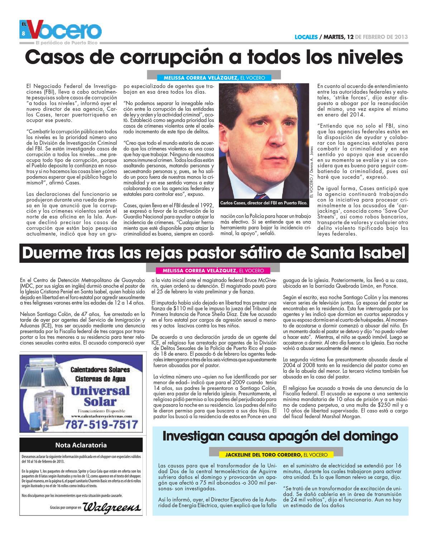 Edición 12 de Febrero 2013 by El Vocero de Puerto Rico - issuu