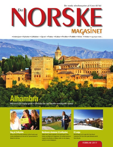 7f9bab03 Det Norske Magasinet februar 2013 by Norrbom Marketing - issuu