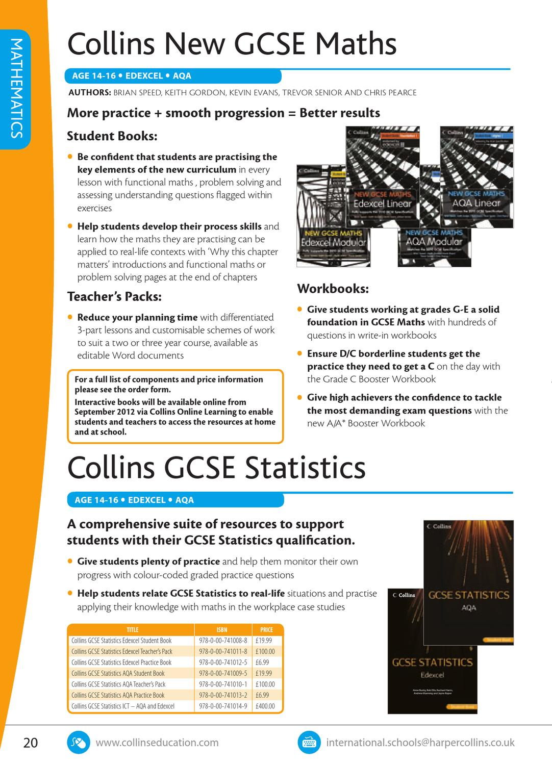 Collins International Secondary Catalogue by Collins - issuu