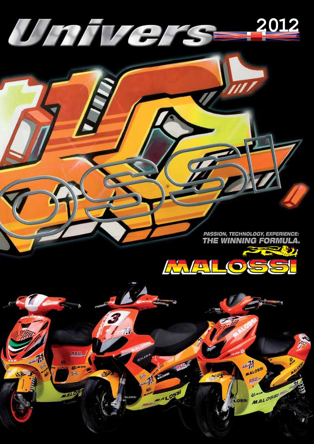 Malossi katalog by MOTOMAXX IZOLA - issuu on