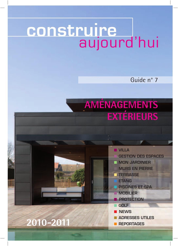 Guide Construire Aujourd Hui Am Nagements Ext Rieurs By  # Abri De Jardin Ideal Guillemin