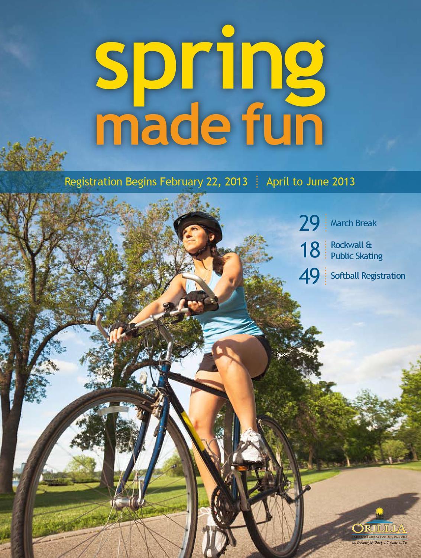 Spring Made Fun Brochure 2013 by Keltie Town - issuu