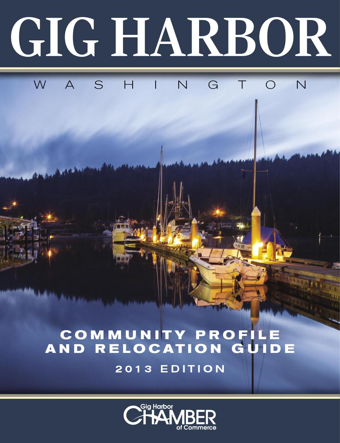 Gig Harbor Chamber Relocation Guide By Jim Appelgate Issuu
