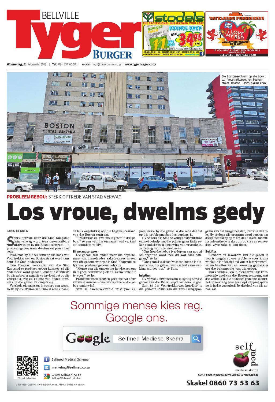 Tygerburger Bellville 13 Jan 2013 by Tygerburger Newspaper
