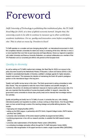 Roadmap 2020 by TU Delft issuu