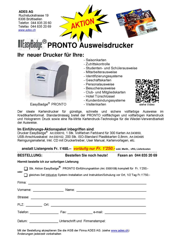 Ausweisdrucker Und Zubehoer By Ades Ag Issuu