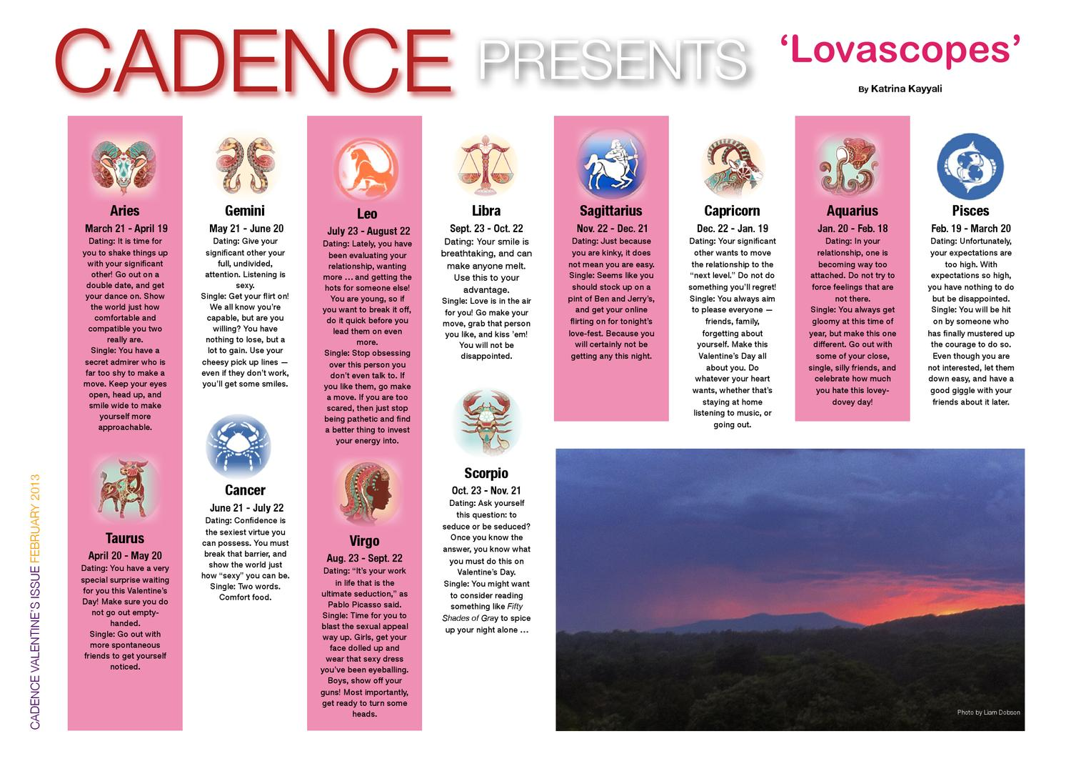 The Valentine Issue 2013 by Cadence Online - issuu
