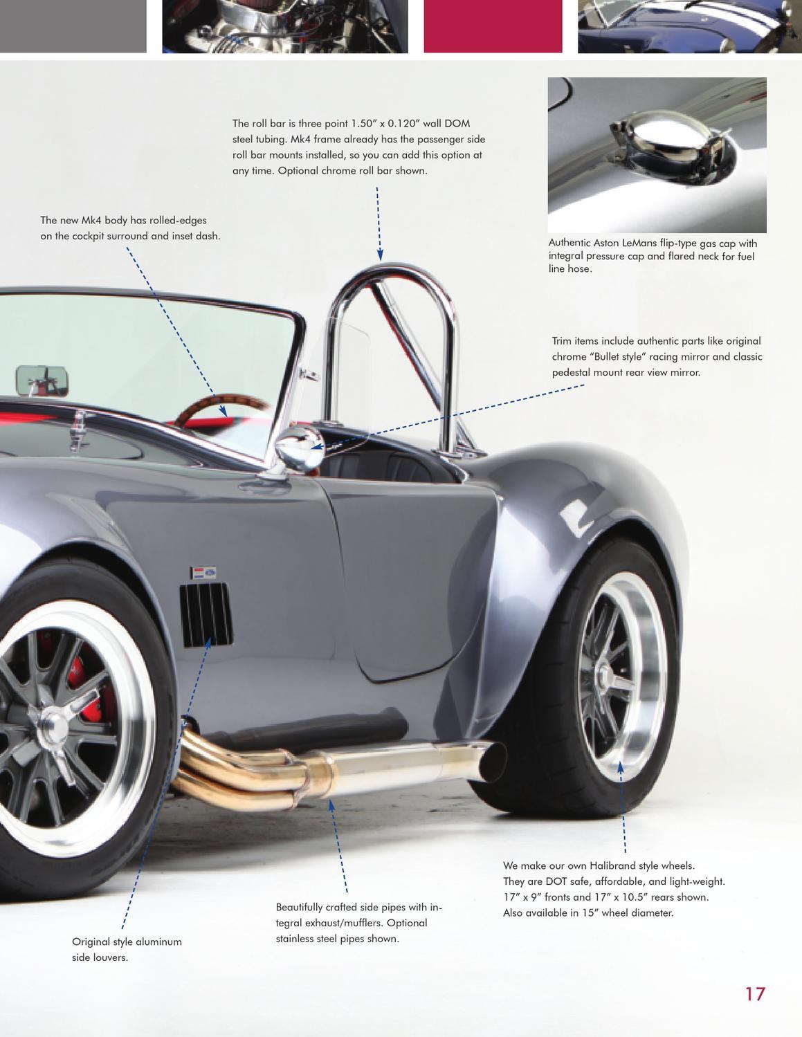 Factory Five Mk4 Roadster Brochure by David Lindsey - issuu