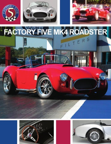 Factory five 33 hot rod brochure by david lindsey issuu factory five mk4 roadster brochure malvernweather