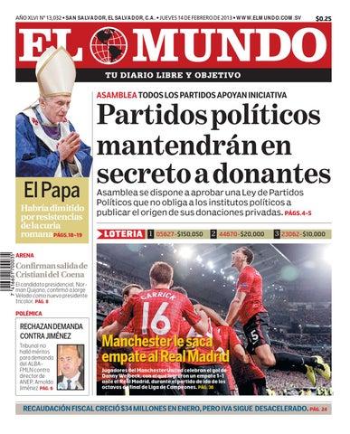Edición Digital 140213 By Diario El Mundo Issuu