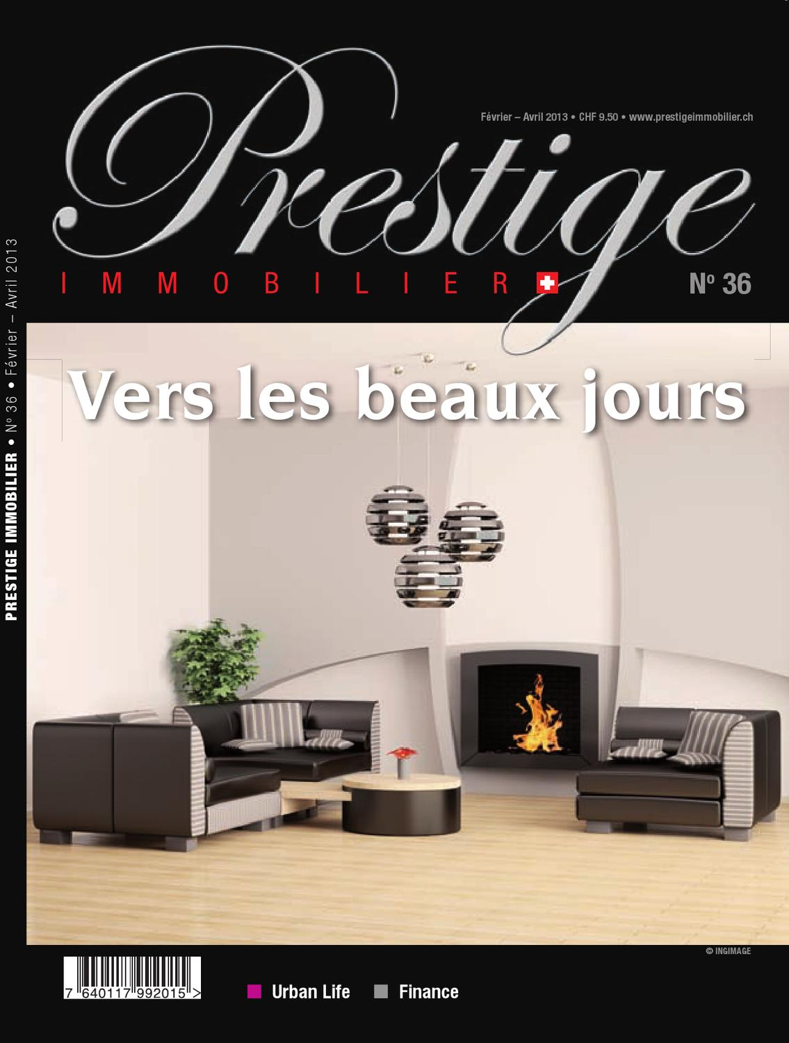 Prestige immobilier n°36 by Plurality Presse Prestige Immobilier - issuu 307226be47e
