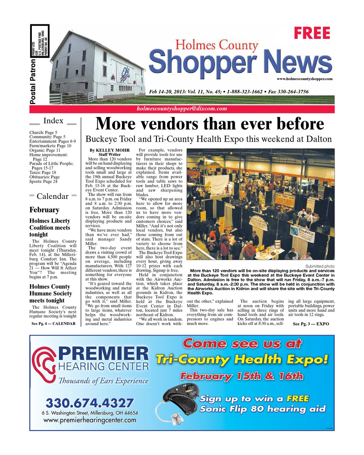 Holmes County Shopper Feb 14 2013 By Gannett Neo Issuu