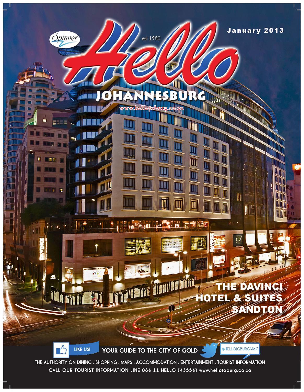 o Johannesburg January 2013 by SpinnerCom Media - issuu on