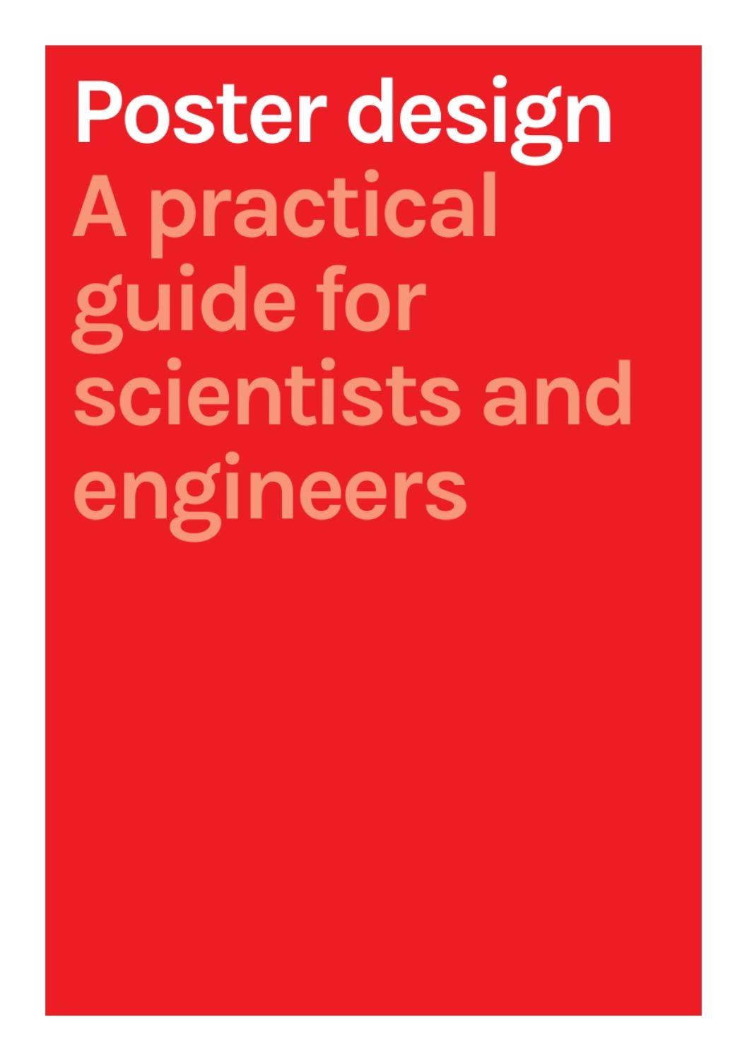 DesignScience_BSA_poster guide by Anne Odling-Smee - issuu