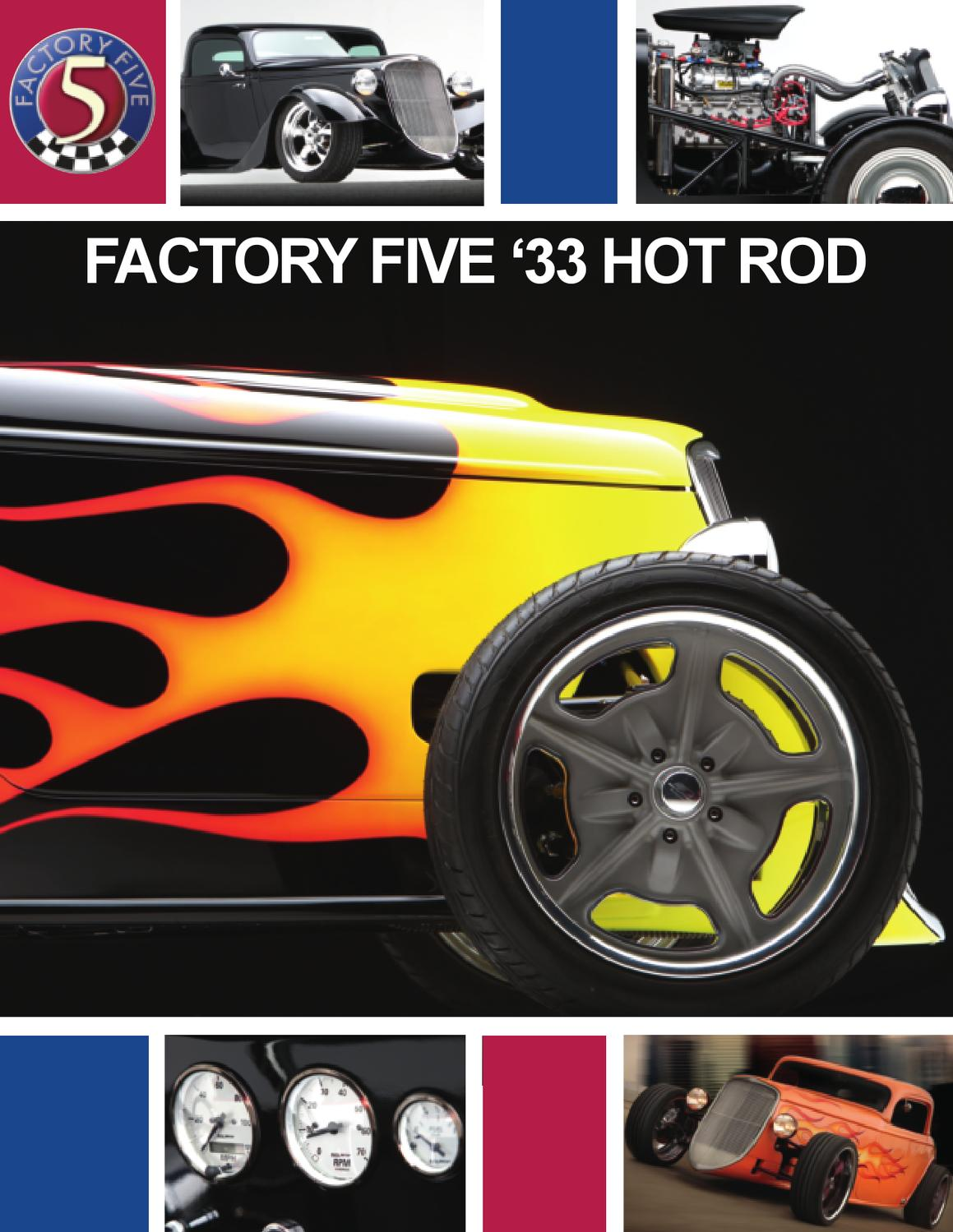 Factory Five 33 Hot Rod Brochure By David Lindsey Issuu Control Panel And Wiring Harness For Rods
