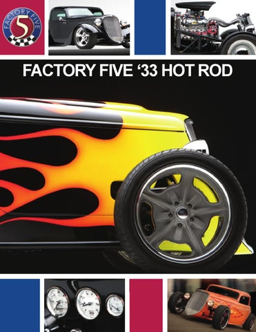 Factory five 33 hot rod brochure by david lindsey issuu factory five 33 hot rod malvernweather