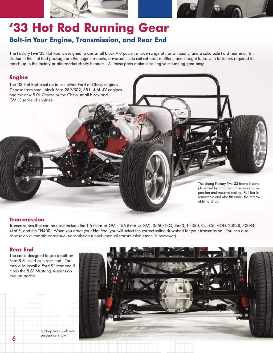 Factory Five \'33 Hot Rod Brochure by David Lindsey - issuu