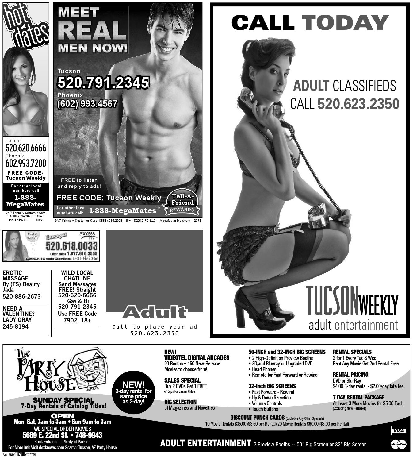 entertainment tucson Adult