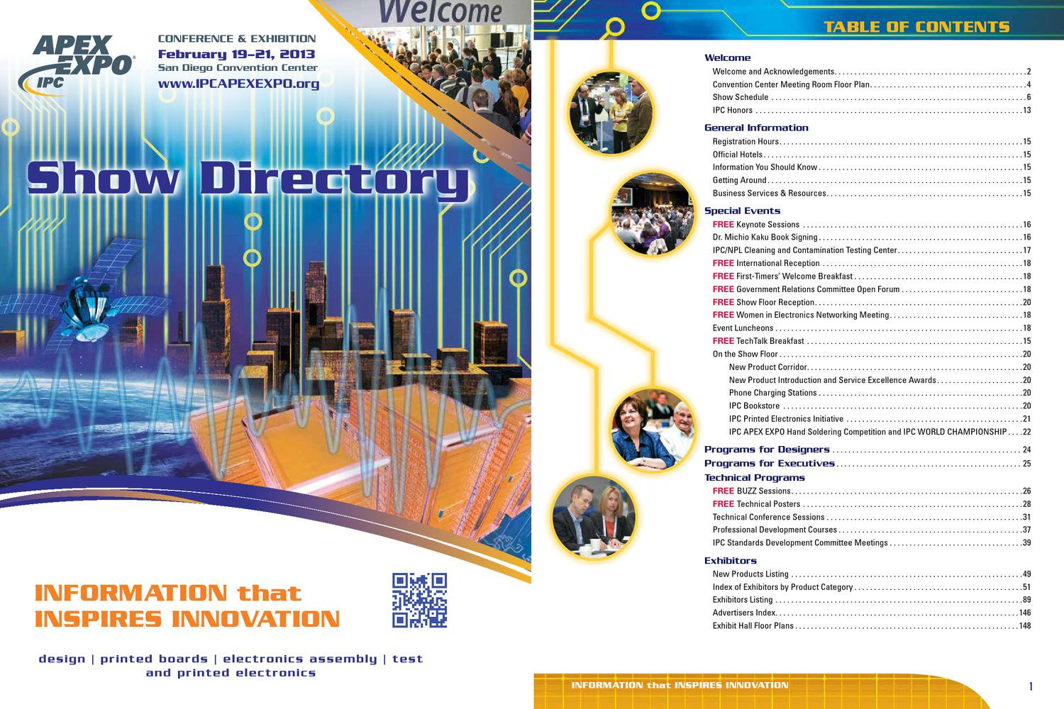 Ipc Apex Expo 2013 Show Directory By Issuu Laminate Rigid Pcb High Tg Low Cte Circuit Board Maker From China
