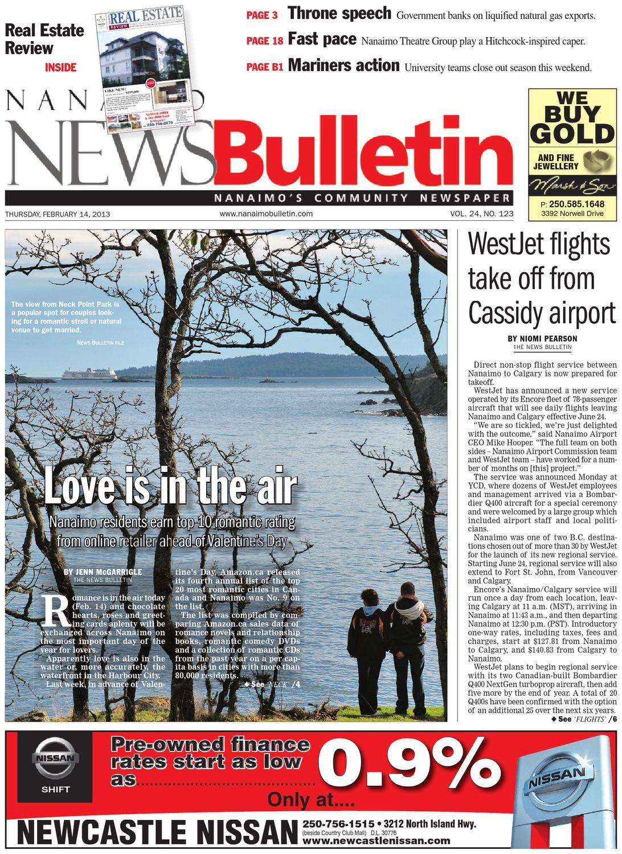 Nanaimo News Bulletin, February 14, 2013 by Black Press - issuu