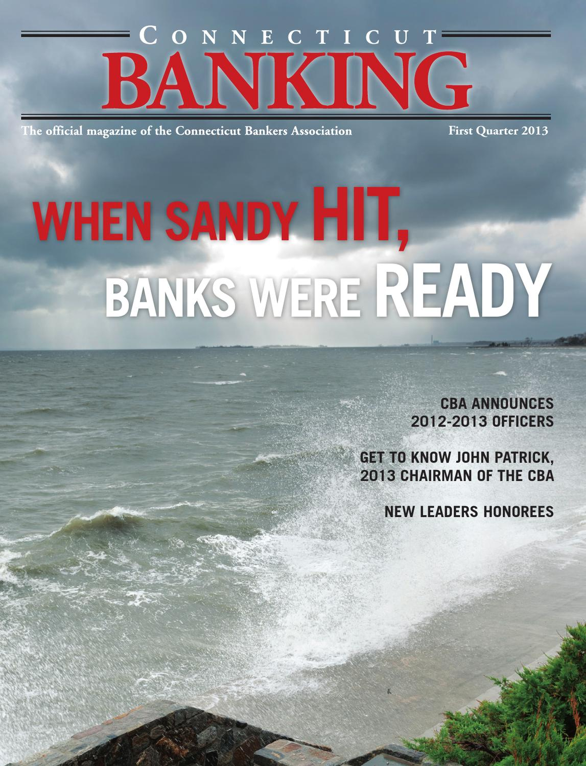 Connecticut Banking, 1Q 2013 by The Warren Group - issuu