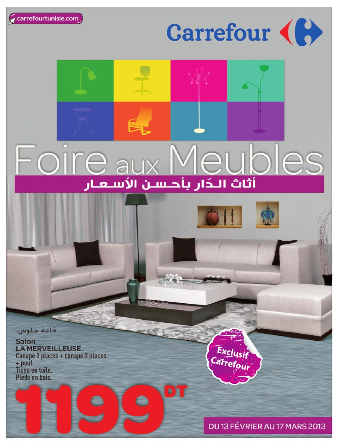 Catalogue carrefour foire aux meulbes by carrefour for Meuble carrefour