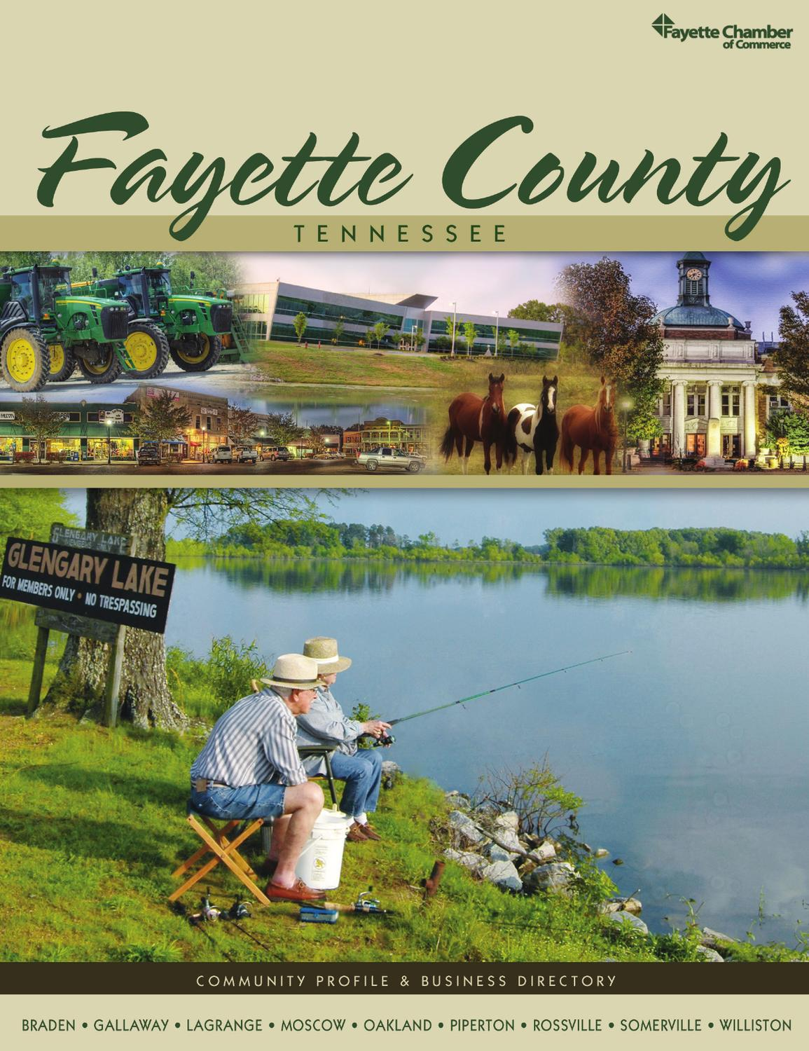 Tennessee fayette county rossville - Fayette County Tn 2013 Community Profile And Business Directory By Communitylink Issuu