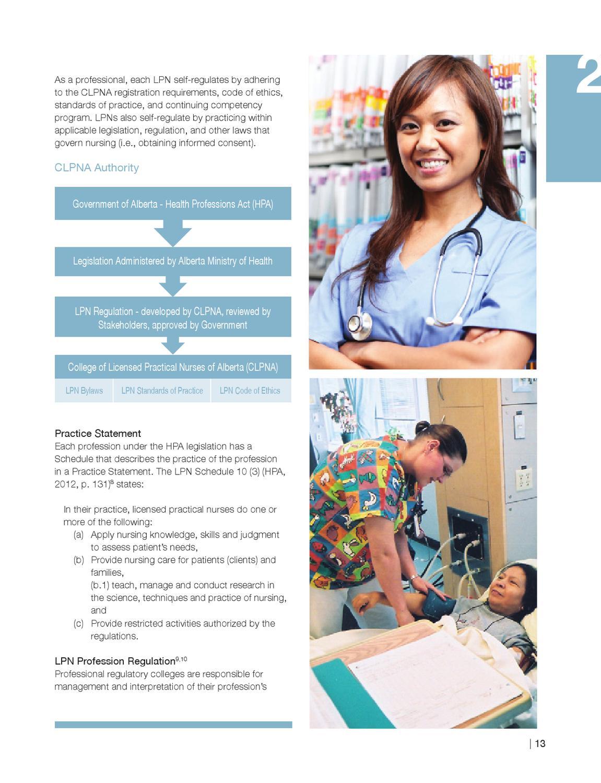 Career Guide College Of Licensed Practical Nurses Of Alberta By