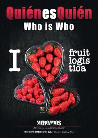 Ed  Especial Fruit Logistica 2013 by Revista Mercados - issuu