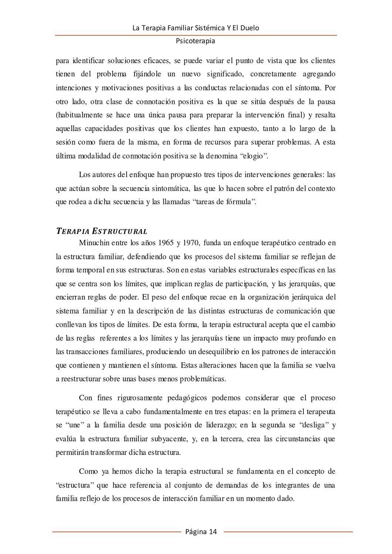 La Terapia Familiar Sistémica Y El Duelo By Sandy Haro Issuu