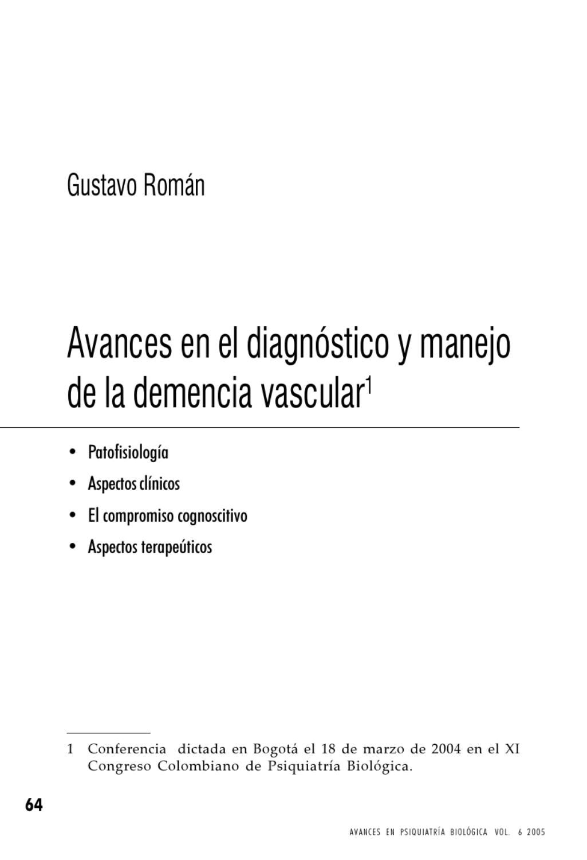 Circuito Vascular : 4 avances en demencia vascular by jorge franco issuu